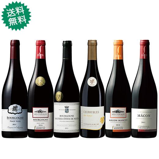 すべて金賞!ブルゴーニュ地方満喫赤ワイン6本セット 赤ワインセット 金賞