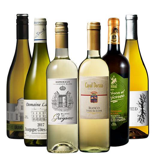 ヨーロッパ三大銘醸国入り世界白ワイン6本セット ワインセット ボルドーワイン 白ワイン