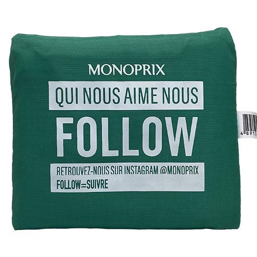 ★ モノプリ エコバッグ 緑 MONOPRIX フランス直輸入!
