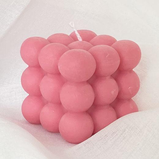 ★ キャンドル バブル (ピンク) YUi BROOKLYN Kawaiiキャンドル