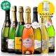 ≪スパークリングストッパー付≫金賞ロゼシャンパーニュ入り!世界の高評価スパークリング7本セット ワインセット スパークリングワイン
