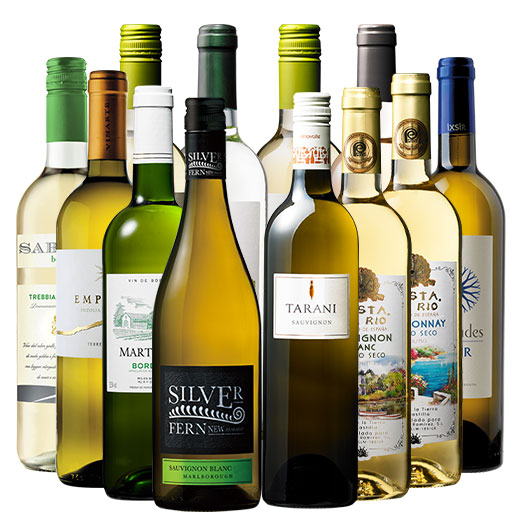 高級産地ニュージーランド&ダブル金賞入り!世界銘醸地の白ワイン12本セット ワインセット
