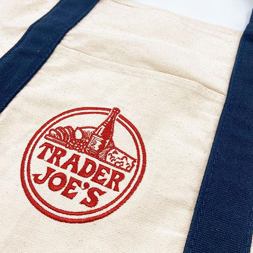 ★ トレーダー・ジョーズ  Trader Joe's エコバッグ トートバッグ トレーダージョーズ トレジョ