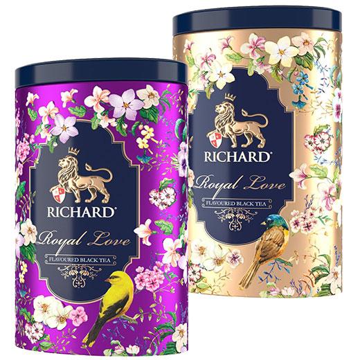 ★ 20%OFF! ロイヤル・ラブ 2缶セット 紅茶 (リーフ) Richard Tea リチャードティー