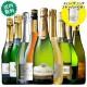 【ストッパー付】金賞&高評価&シャンパン製法入り!世界のスパークリング9本セット ワインセット 金賞 スパークリングワイン シャルドネ