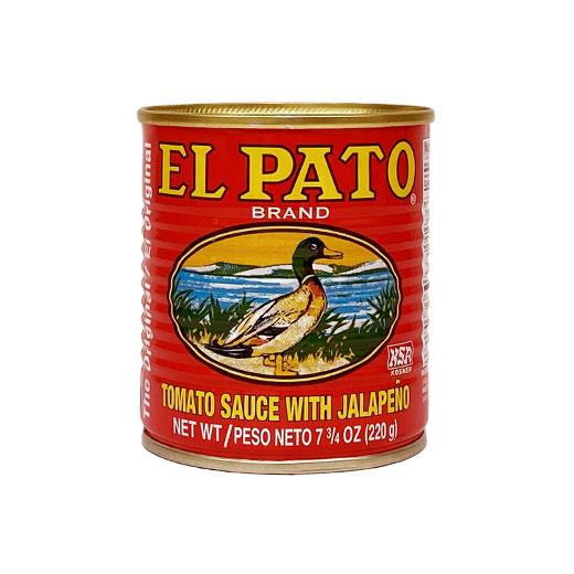無料サンプル/ハラペーニョ トマトソース 7.75oz / 220g EL PATO エルパト