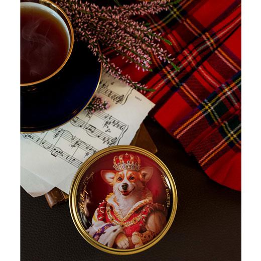 ★ ロイヤルドッグ缶 コーギー セイロンティー 30g 紅茶 (リーフ) Richard Tea リチャードティー