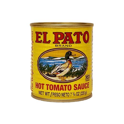 無料サンプル/EL PATO ホットトマトソース 7.75oz / 220g
