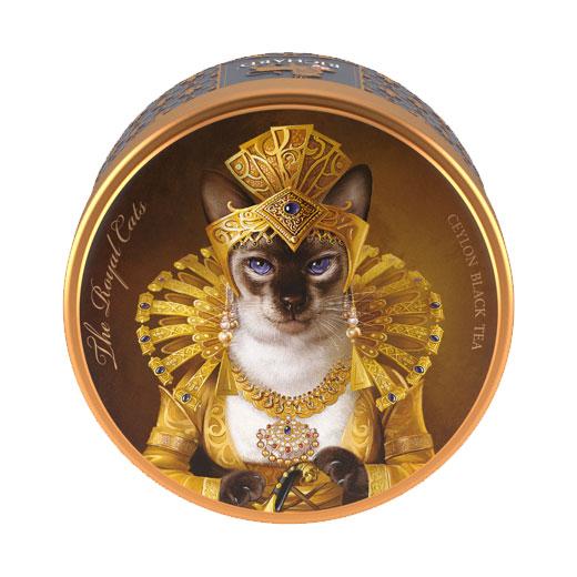 ★ ロイヤルキャット缶 シャム猫 セイロンティー 30g 紅茶 (リーフ) Richard Tea リチャードティー