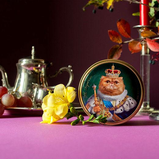 ★ ロイヤルキャット缶 ペルシャ猫 セイロンティー 30g 紅茶 (リーフ) Richard Tea リチャードティー