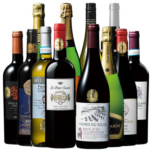 すべて金賞欧州3大銘醸国入り赤白スパークリング12本セット ワインセット 金賞 スパークリングワイン 赤ワイン 白ワイン 赤白泡