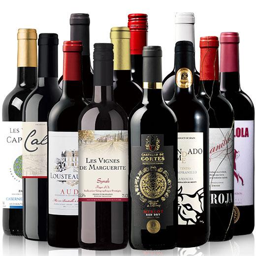 世界の金賞受賞赤ワイン12本セット 赤ワインセット 金賞 イタリア カベルネ