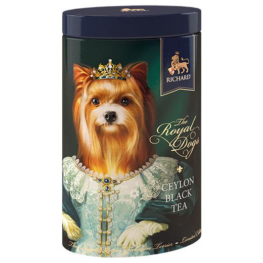 ★ ロイヤルドッグ缶 ヨークシャー・テリア セイロンティー 80g 紅茶 (リーフ) Richard Tea リチャードティー