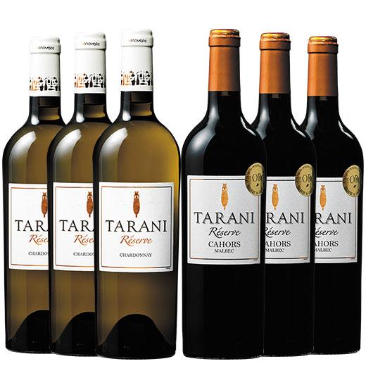 南西フランス大人気ブランド樽熟成タラニ赤白2種6本セット ワインセット 赤ワイン 白ワイン