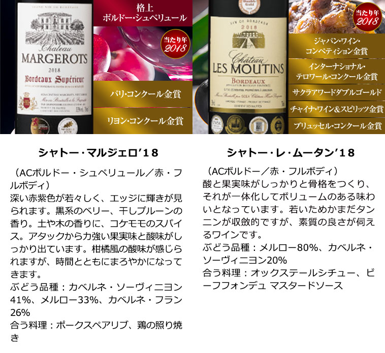格上クリュ・ブルジョワ&5金賞入り!すべて金賞ボルドー最強級赤ワイン10本セット