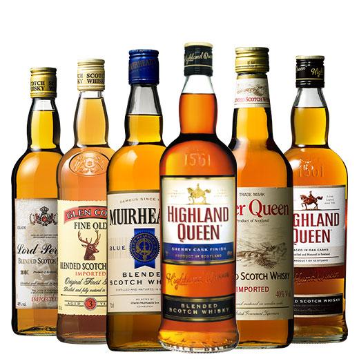 独占輸入ウイスキー6本セット