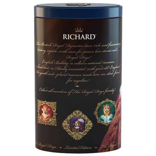 ★ ロイヤルドッグ缶 スパニエル セイロンティー 80g 紅茶 (リーフ) Richard Tea リチャードティー