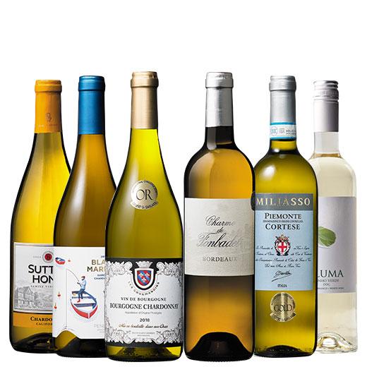 高級産地ブルゴーニュ入り!世界格上白ワイン6本セット ワインセット 金賞 ブルゴーニュ
