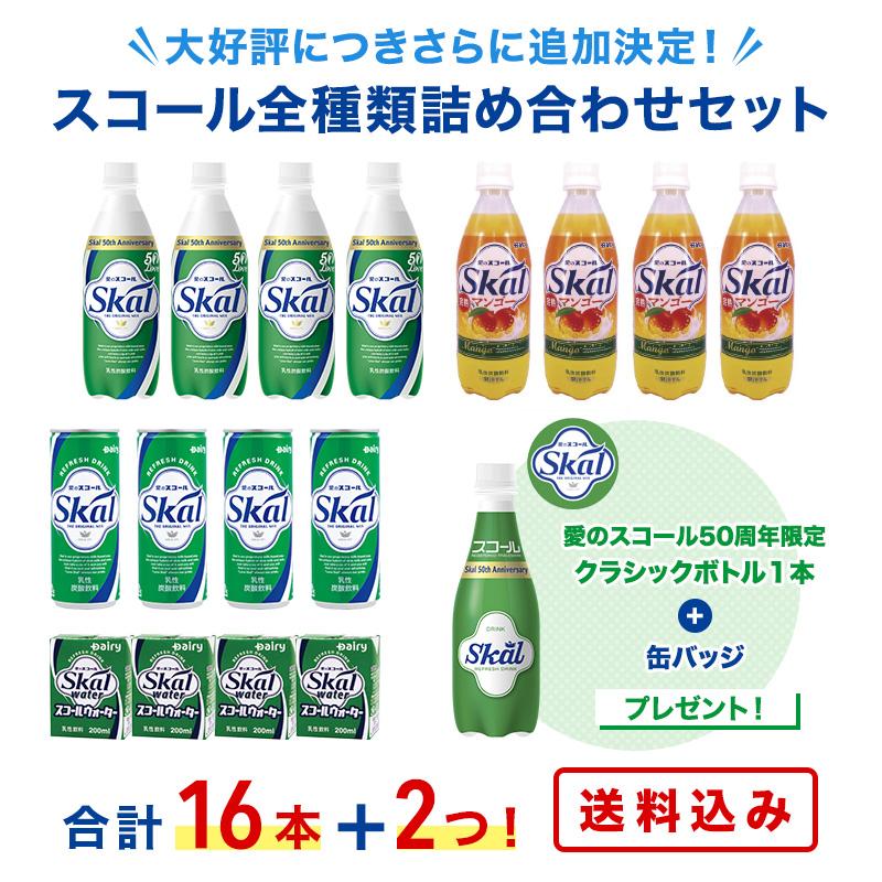 【スコール50周年】【再販】スコール全種類詰め合わせセット