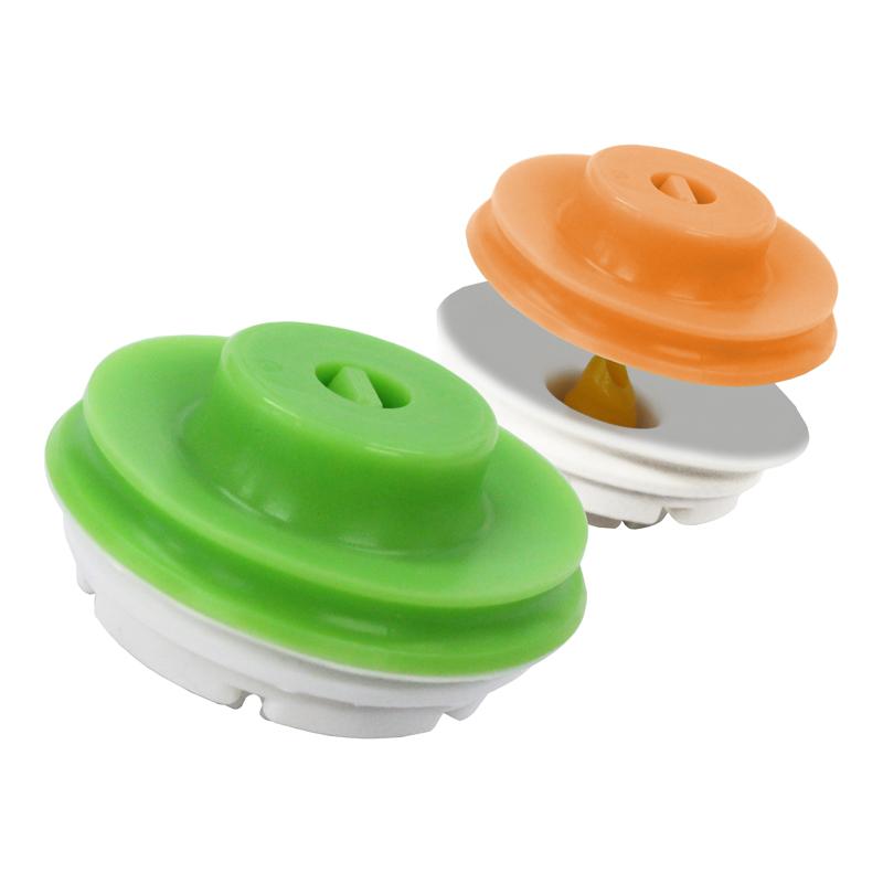 クリッカ バルブ10個セット(オレンジ×5、グリーン×5)