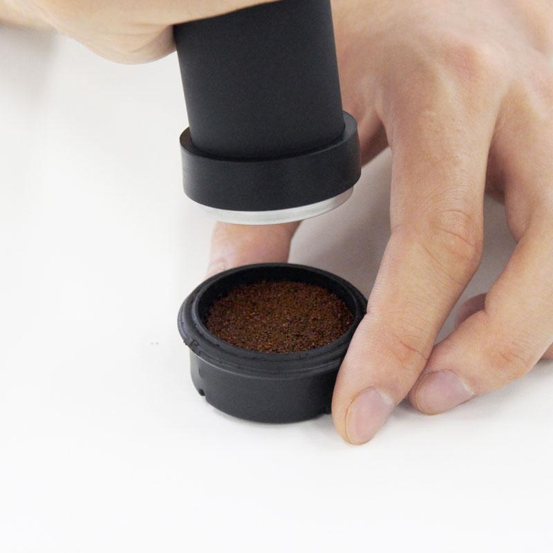 handpressoハイブリッド専用タンパー(キャップ型)