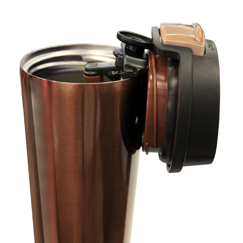 スマートカップ ノモーレ 保温保冷マグ ワンタッチ開閉のシンプル&多機能マグ