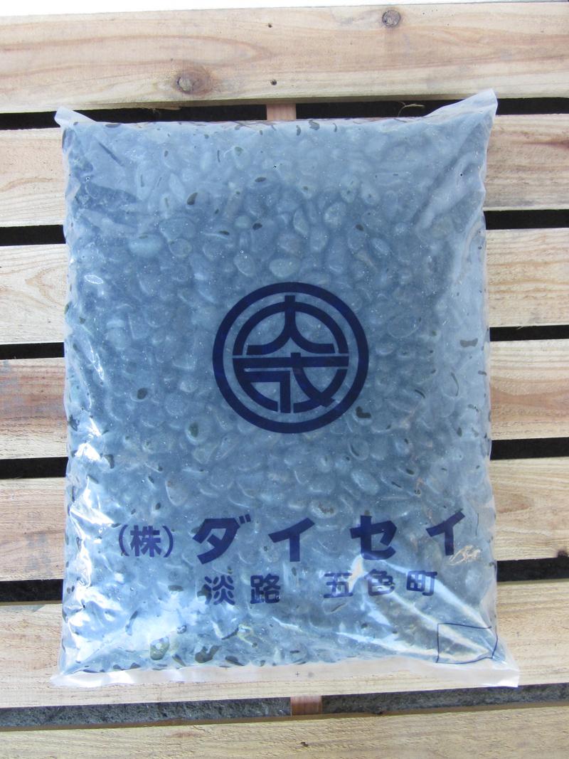 天然那智石(黒砂利)20kg袋 選べる7サイズ