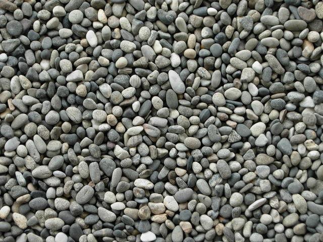 国産・天然みはま(御浜)砂利20kg袋 2分・3分 日本産