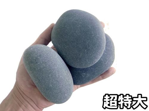 国産・本那智石 4サイズ(20mm〜25mm、65mm〜85mm〜) 20kg袋 【希少】