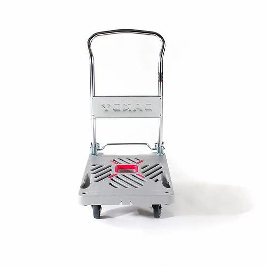 花岡車輛 ダンディXシリーズ UXL-LSC(プラスチック製サイレントキャスター付き折りたたみハンドル台車)