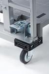 本宏製作所 6輪(天秤)台車 HN-6R (イージーカート)ネスティングタイプ
