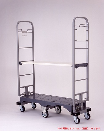 ヤマト・インダストリー 樹脂製6輪(天秤)台車 SRC-3 スルーテナー