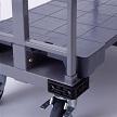 ヤマト・インダストリー 樹脂製4輪台車 SRC-M ミニスルーテナー