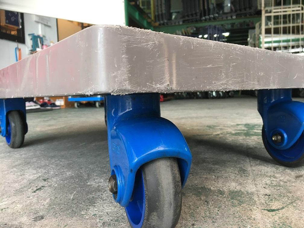 中古台車 折りたたみハンドル台車 金象印 静キャリーP300DX 895×595