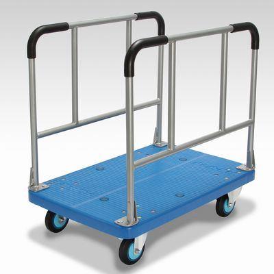 カナツー 長尺運搬車 PLA300Y-W 樹脂製サイドハンドル台車