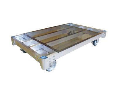 神戸車輌製作所 ALH1275-150 アルミ製新型平床台車