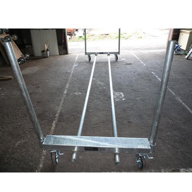 TWIN800(エビススチール製単管組立台車)