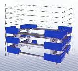 ルート工業 702PP-04  伸縮キャリー 樹脂製ルートボーイ