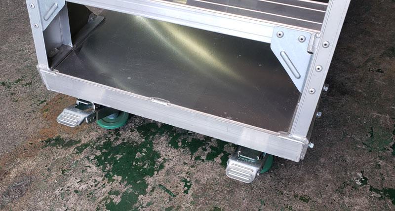 中古台車(未使用展示品) アルミピッキングカート