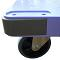 ナンシン サイレントマスター DSK-301B6 樹脂製ハンドル折りたたみ台車ハンドブレーキ付