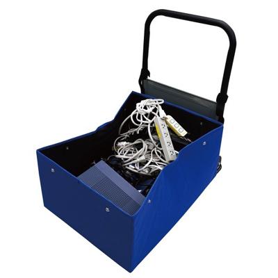 もりや産業 SF-E521 SFたおスルーボックス(折りたたみハンドル手押し台車用ボックス)