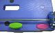 ナンシン DSK-R302B2 手押し防災備蓄用樹脂製固定ハンドル微音キャスター・スペシャルブレーキ搭載タイプ)