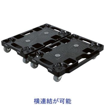ナンシン PD-403-2SE 樹脂製微音キャスター・連結タイプ