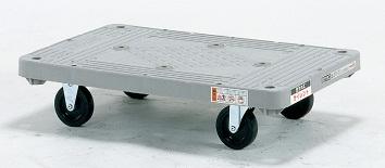 サカエ MHT-20S (樹脂製サイレントキャスター付き・平運搬車)