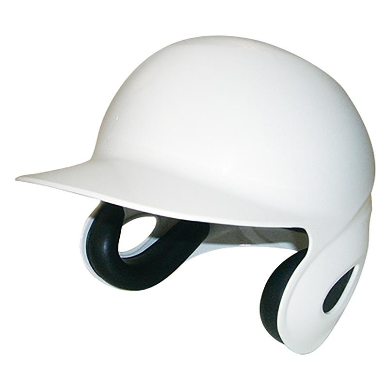 硬式用バッティングヘルメット【つや消しタイプ】/ホワイト