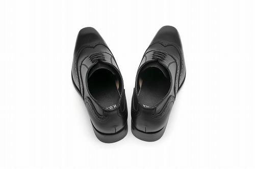 ★サイズ・カラー無料交換★ H.O WALK ビジネスシューズ WING-TIP SHOES ウィングチップ 【PA681】