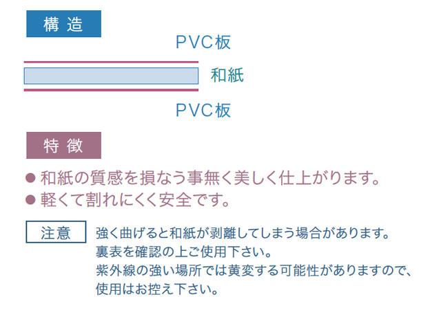 DPSM-1(障子プレート・無地)