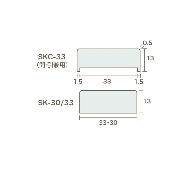 EBフレーム(SKC・SK)(30本単位)