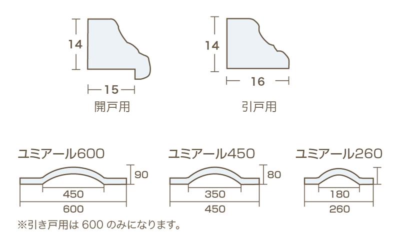 No7(タモ) L=1900 -バラ売り-