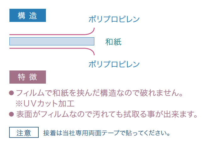 DSSU(スーパーシングル和紙・雲竜)